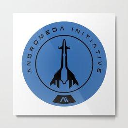 Andromeda Initiative Metal Print