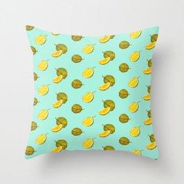 Durian II - Singapore Tropical Fruits Series Throw Pillow