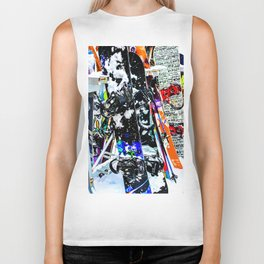 A Mess of Color Biker Tank