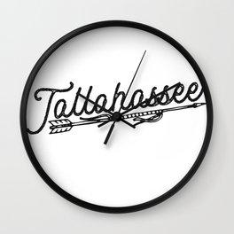 Tallahassee Wall Clock