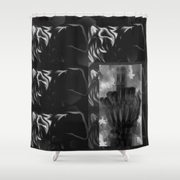 gates of hell III Shower Curtain