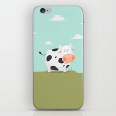 Happy fat cow, The cow, ZWD010 iPhone & iPod Skin