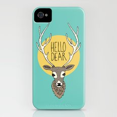 Good Manners - Hello Dear Slim Case iPhone (4, 4s)