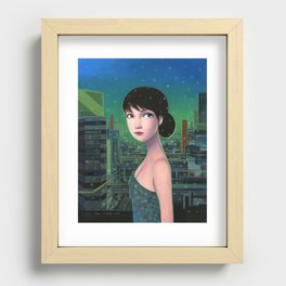 Sweet Yume Recessed Framed Print