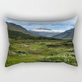 Spring Mountain Rectangular Pillow
