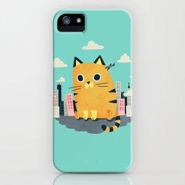 Catzilla iPhone Case