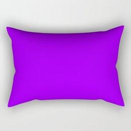 Australian Great Barrier Reef Neon Purple Fish Rectangular Pillow