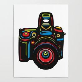 Black Camera Poster