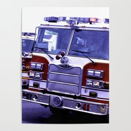 Those Wonderful Fire Trucks Poster