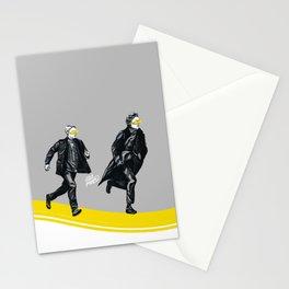 Swift Run (Sherlock and John) Stationery Cards