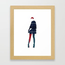 The joy of dressing, Art Prints by dayDREAM - MMS 643 Framed Art Print