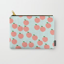 Funny Peach Carry-All Pouch