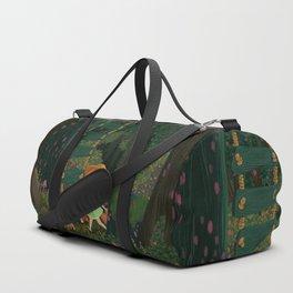books, friends, lemonade and adventures Duffle Bag