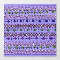 Bright Geo pattern Canvas Print