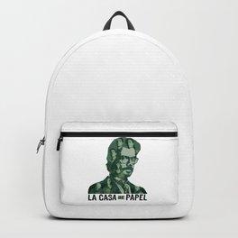 La Casa De Papel Fanart Green Version Classic T-Shirt Backpack