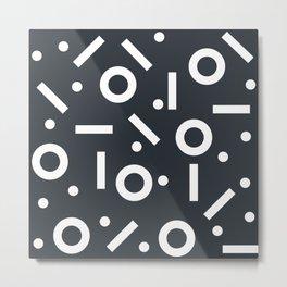 Geometric Pattern 03B Metal Print