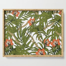 Exotic nature Serving Tray
