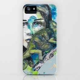 cameleon by carographic iPhone Case