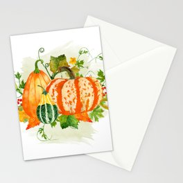 Pumpkin Bouquet Stationery Cards