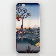 The Teahouse with the View of Mt. Fuji at Zōshigaya iPhone & iPod Skin