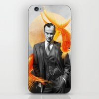 goldfish iPhone & iPod Skins featuring Goldfish by tillieke