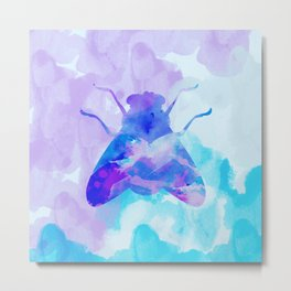 Abstract Fly Metal Print