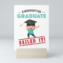 First Grade Here I Come, Kindergarten Graduation Mini Art Print