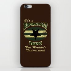 It's  Browncoat Thing... iPhone & iPod Skin