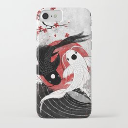 Koi fish - Yin Yang iPhone Case