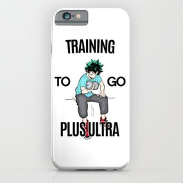 Plus Ultra Training iPhone Case