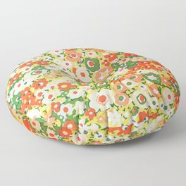 Sunset Garden Pattern No. 1 Floor Pillow