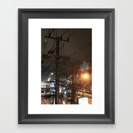 Cables I Framed Art Print