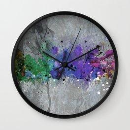 Colorsplash Wall Clock