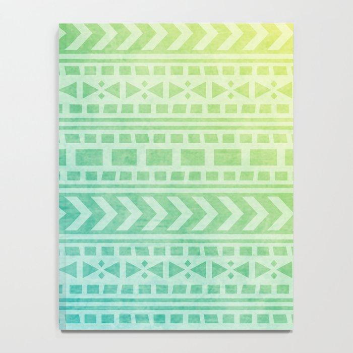 Aztec Pattern 07 Notebook