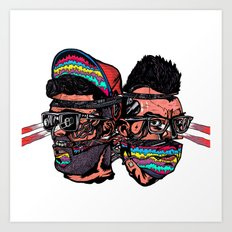 Bass Brothers Art Print