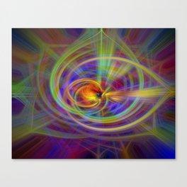 Salve twirls Canvas Print