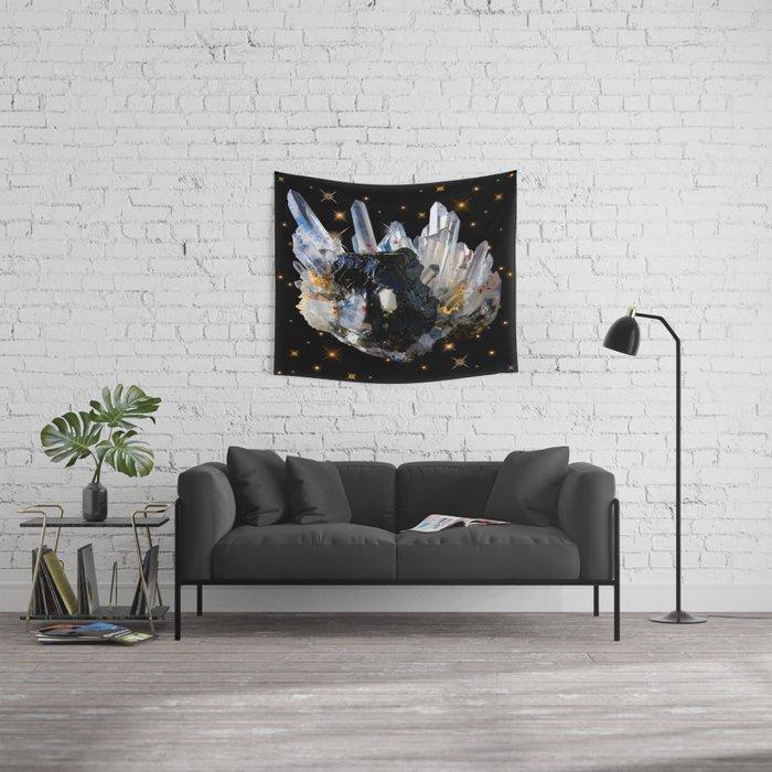 Star Aura Quartz Wall Tapestry