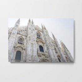 Milan Cathedral Metal Print
