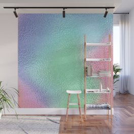 Simply Metallic in Holographic Rainbow Wall Mural