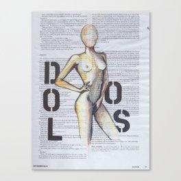 DOLOS Canvas Print