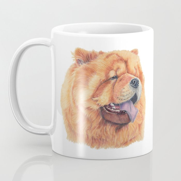 Chow Chow Coffee Mug By Doggyshop Society6