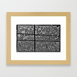 HARLEM WORLD Framed Art Print