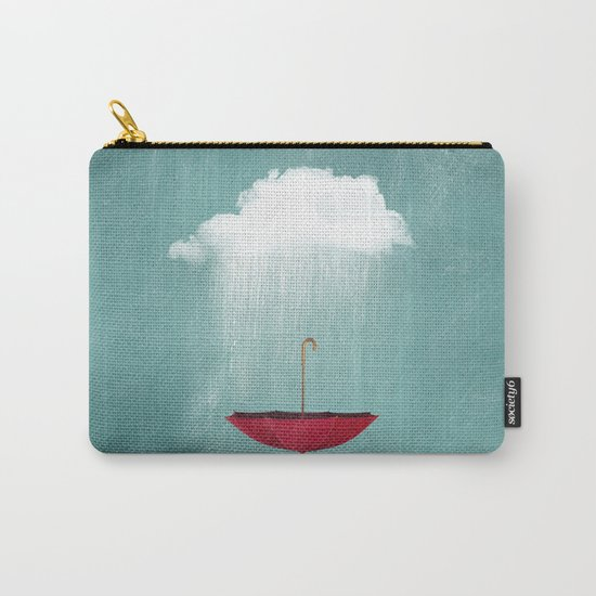 EMBRACING the rain Carry-All Pouch