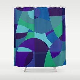 Sea Sangria Shower Curtain