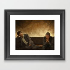 When you say nothing at all Framed Art Print