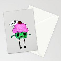 Zombie Cuppy Wants Your Brainz Stationery Cards