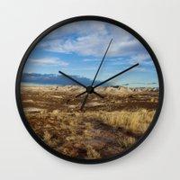 arizona Wall Clocks featuring Arizona by Ian Bevington