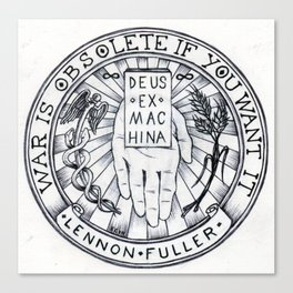 Sigil of the Open Hand Canvas Print