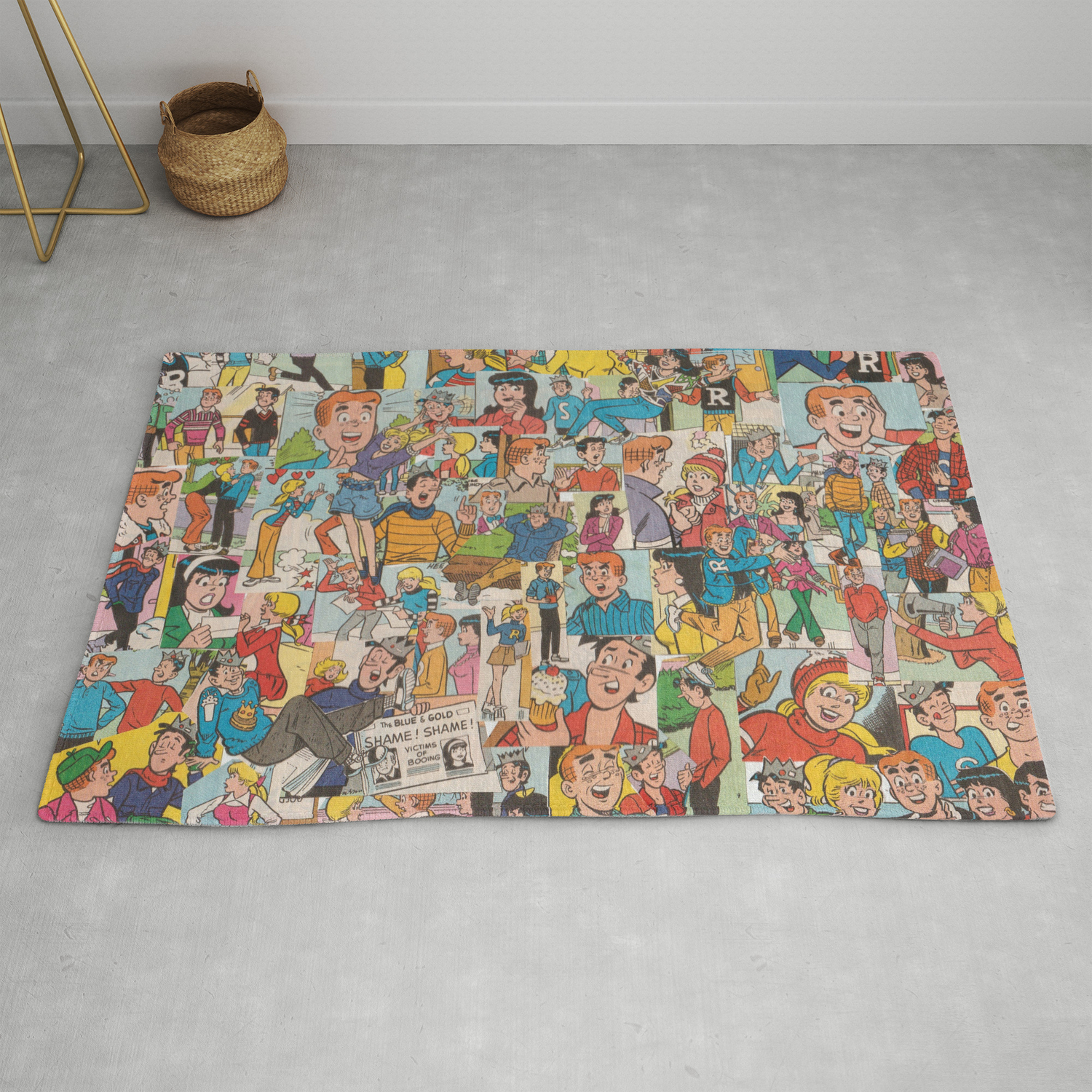 Archie Comics Collage 2 Rug By