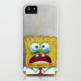 SPONGEBOB SCREAMING iPhone Case